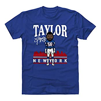 500 LEVEL Lawrence Taylor Shirt  Cotton XXX-Large Royal Blue  - Lawrence Taylor Toon R WHT