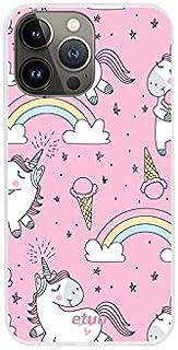 Etui na Apple iPhone 13 Pro Max - etui na telefon Design Case - Pink Unicorn - guma case obudowa silikonowa wzory