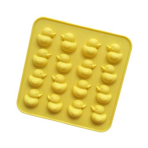 Luwu-Store 3D-DIY-Silikonform in Entenform, für Schokolade, Backwaren, Kuchen, Kekse, Dekorationsform