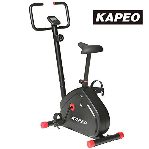 KAPEO エアロマグネティックバイク 8段階負荷調節 静音フィットネスバイク 室内動感単車 スピンバイク メー...