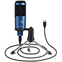 EIVOTOR 192KHZ/24BIT Plug & Play Computer Microphone