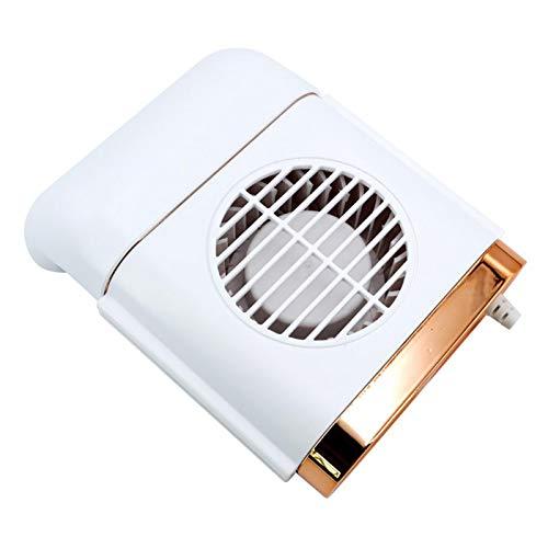 LOVOICE Ventilador de coche USB para coche, ventilador portátil de 3 velocidades