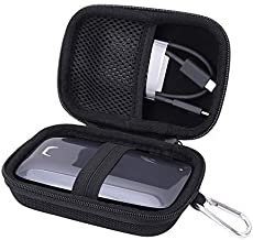 Aenllosi Hard Carrying Case for Samsung X5 Portable SSD - 1TB/2TB/500GB - Thunderbolt 3 External SSD