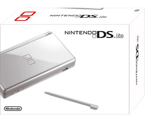 Nintendo DS Lite - Konsole, silver