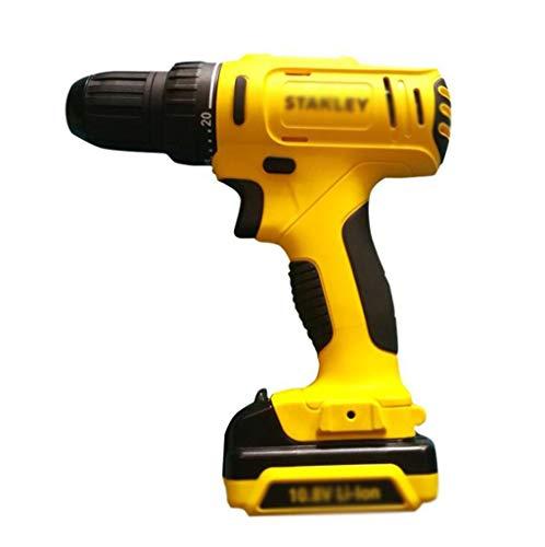 Recargable taladro atornillador eléctrico, profesional de perforación pistola recargable, destornillador eléctrico herramienta...