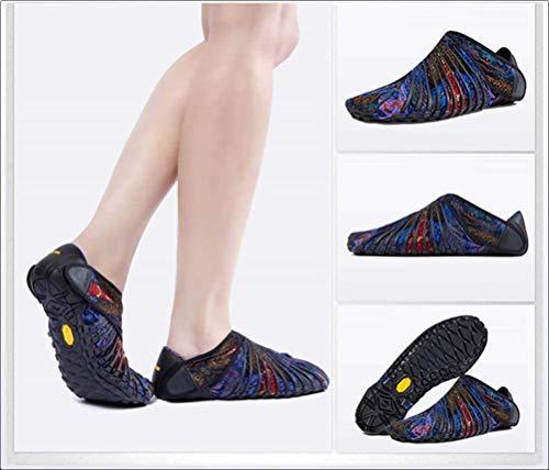 2-2 Zapatos Unisex para Adultos,Bajos,de Cinco Dedos,Zapatillas...