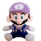 Therfk Color Mario Bros Púrpura Muñecos De Peluche Dibujos Animados Decoración Anime Periferia Juguetes De Peluche Niños Regalo De Cumpleaños 50 Cm