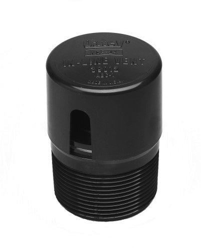 Oatey 39012 ABS In-Line Vent, Black by Oatey