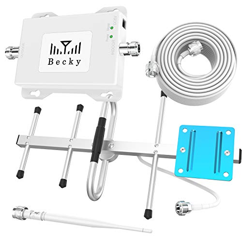 Cell Phone Signal Booster for Verizon Band 13, LTE 4G Cell Signal Booster Amplifier Boost Voice+Data 700Mhz Cell Phone Signal Booster for Home/Office