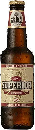 Gluten Free - Birra Italiana Superior Tradizionale Bionda Lager Senza Glutine - 24 bt da 0,33 -...