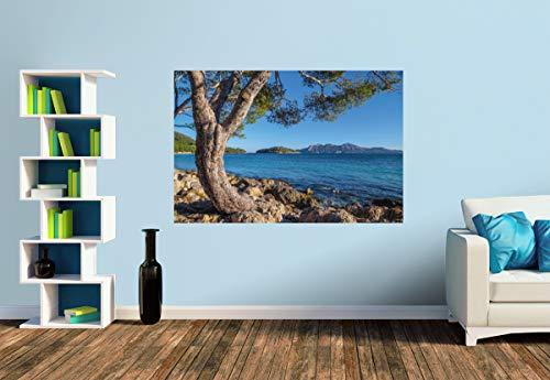 Premium Foto-Tapete Cala Pi de la Posada am Cap Formentor auf Mallorca (versch. Größen) (Size S | 186 x 124 cm) Design-Tapete, Wand-Tapete, Wand-Dekoration, Photo-Tapete, Markenqualität von ERFURT
