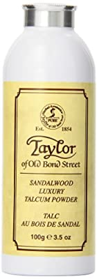 Taylor of Old Bond Street 100g Luxury Sandalwood Talcum Powder by Taylor of Old Bond Street
