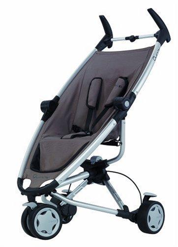 Quinny 65602980 - Zapp playground brown, inkl. Sonnendach, Regenverdeck, Reisetasche und Adapter für die Maxi-Cosi Babyschale