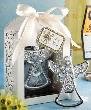 Apribottiglie a forma di angelo della Comunione, in confezione regalo, dettagli e regali per la Prima Comunione, economici e originali