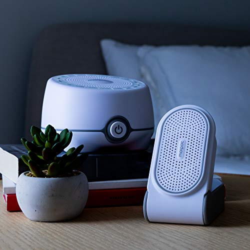 Yogasleep Road Warrior Bundle | Whish 16-Sound White Noise Machine & Go Portable Travel White Noise Machine | Travel, Office Privacy, Sleep Therapy, Concentration | for Adults & Baby