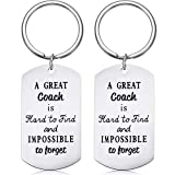 SATINIOR 2 Pieces Keychains Sport Gifts with 2 Gift Boxes for, As Picture Shown, Large