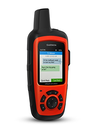 Garmin 010-01735-10 inReach Explorer Plus Handheld Satellite Communicator with Maps and Sensors