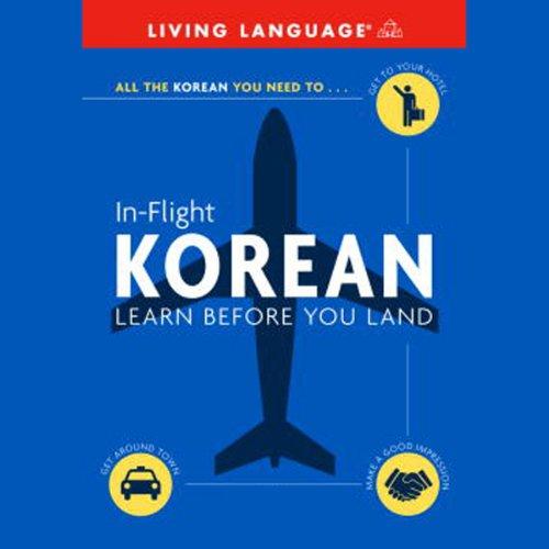 In-Flight Korean audiobook cover art