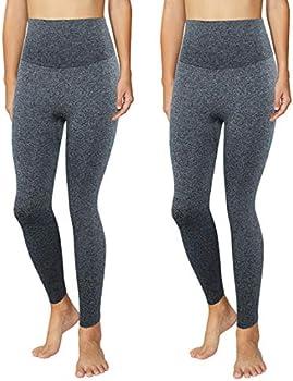 2-Pack Phetaum Workout High Waist Seamless Women's Leggings