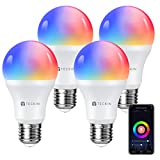 Smart WiFi Light Bulb with Soft White Light,...