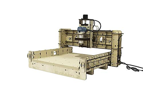 BobsCNC Evolution 3 CNC Router Kit with the Router Included (16' x 18' cutting area and 3.3' Z travel)
