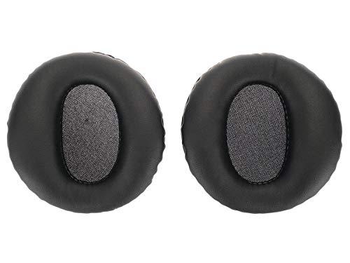WEWOM 2 Cuscinetti di ricambio per auricolari Sony PS3 PULSE, neri