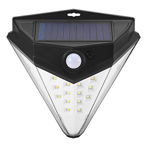 Luces Exterior Solar, Careslong LED Sensor Movimiento Lámpara Solar Luces 36 LED,3 Modos Inteligentes, IP65 Impermeable, Escaleras, Patio,Jardines,Garaje,etc [Clase de eficiencia energética A++]