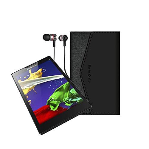 Lenovo Tab 2 A7-30 B&le 17,8 cm (7 Zoll IPS) Tablet-PC (MediaTek MT 8127, 1GB RAM, 8GB e mmC, Android 4.4) schwarz inkl. Premium JBL Köpfhörer, Samsonite Tasche