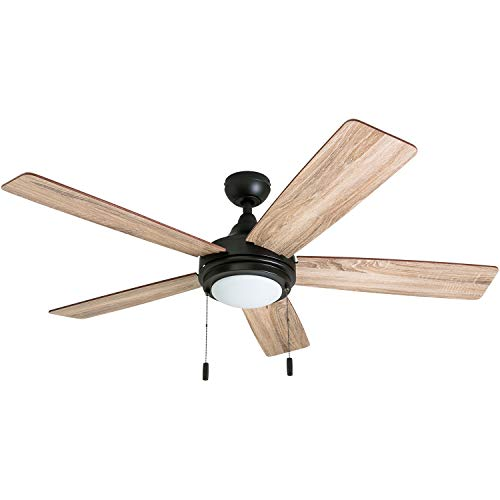 Honeywell Ceiling Fans 50607-01 Ventnor Ceiling Fan, 52', Bronze
