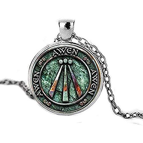 Colgante de amuleto con diseño de Druid, para regalo de vikingo, joye