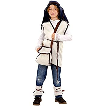 Disfraz de Pastor Cabrero para niños: Amazon.es: Juguetes y juegos