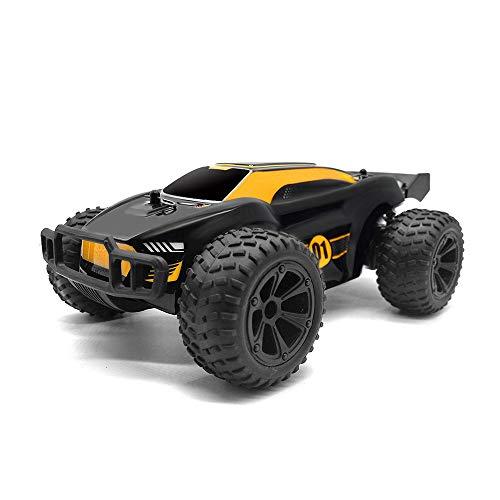ADSVMEL RC 4WD Remote Desert Car Crawler Unique Rock Toys Camión de Grado Giratorio 2.4Ghz Dune Racer Recargable Superlarga Distancia de Control para niños o niñas Regalo