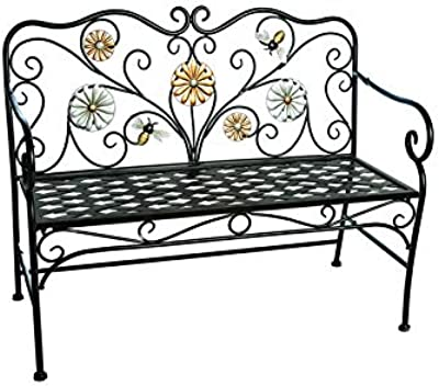 Amazon Com Fa Decors Fancy Butterfly Metal Scroll Garden Patio