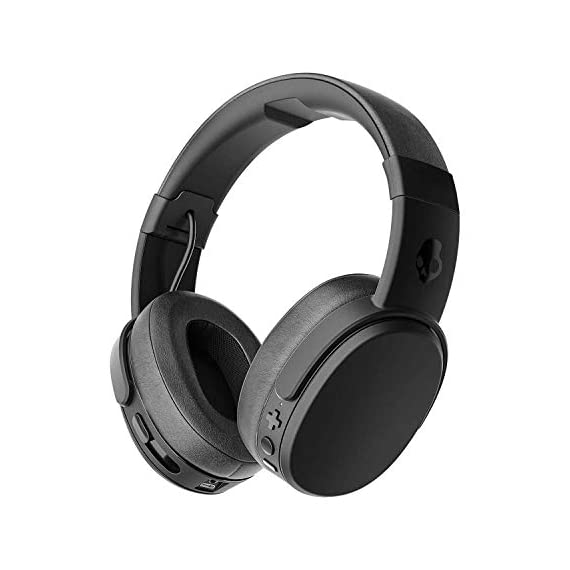 Skullcandy-Crusher-Bluetooth-Wireless-Over-Ear-Headphones-with-Microphone-Noise-Isolating-Memory-Foam-Adjustable-and-Immersive-Stereo-Haptic-Bass-Rapid-Charge-40-Hour-Battery-Life