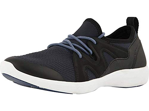 Vionic Women's Sky Storm Active Sneaker - Lace-up Everyday Sneakers with Concealed Orthotic Arch Support Navy Black 11 M US