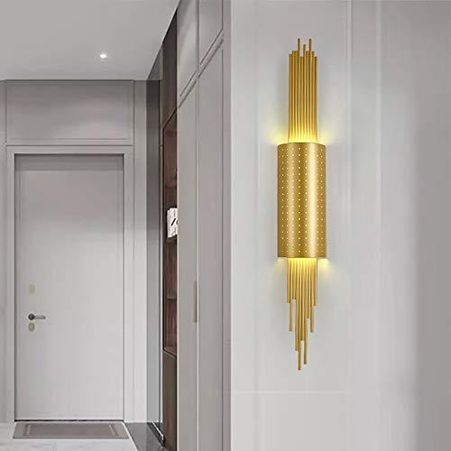 MJZHJD Moderna Minimalista Luz en el Interior de Lujo en geométrica de iluminación LED Pasillo lámpara de Pared de 16 * el 108CM Luz de Pared