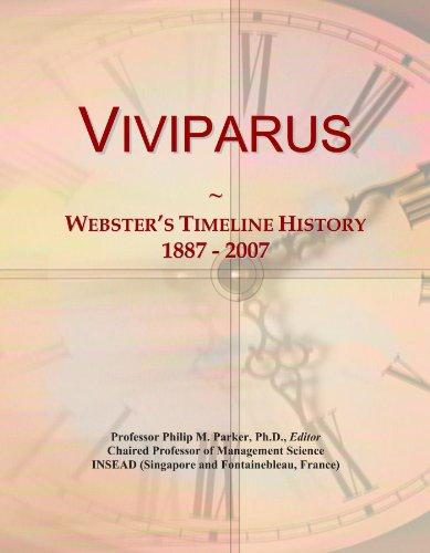 Viviparus: Webster's Timeline History, 1887 - 2007
