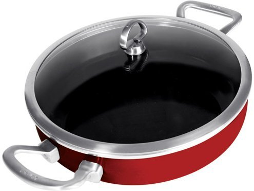 Chantal Copper Fusion Sauteuse Pan
