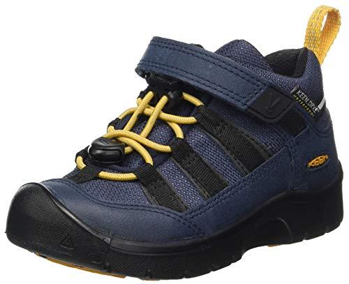 KEEN Hikport 2 Low Height Waterproof Hiking Shoe Wanderschuh, Blue Nights Sunflower, 37 EU
