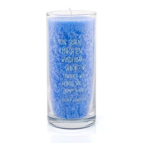 Palmwachs-Kerze »Von guten Mächten«