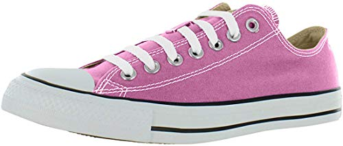 Converse Chuck Taylor Ox Sneaker für Damen, Schlangenledermuster, silberfarben und weiß, - Fuchsia, leuchtend - Größe: 36.5 EU