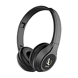 Infinity (JBL) Glide 500 Wireless Headphones with 20 Hours Playtime (Quick Charge), Deep Bass and Dual Equalizer (Charcoal Black),Infinity,Glide 500