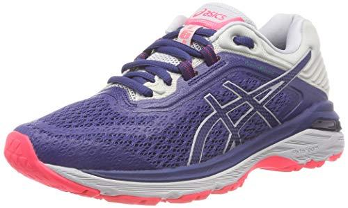 ASICS Gt-2000 6 Trail Plasmaguard, Chaussures de Running Femme, Multicolore (Deep Ocean Mid Grey 400), 40.5 EU