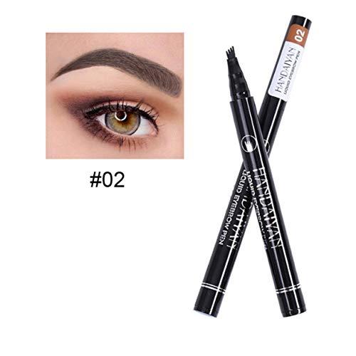 ShenyKan 5 Couleurs Stylo À Sourcils Étanche Crayon À Sourcils Maquillage Anti-Tache Sourcils Liquide Sourcils Enhancers Outil De Beauté