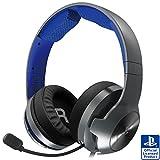 SONYライセンス商品 ホリ ゲーミングヘッドセット プロ for PlayStation®5 PlayStation®4 PC ブルー PS5対応