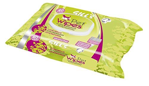 Croci Gill's - Toallitas limpiadoras para Perros (40 Piezas)