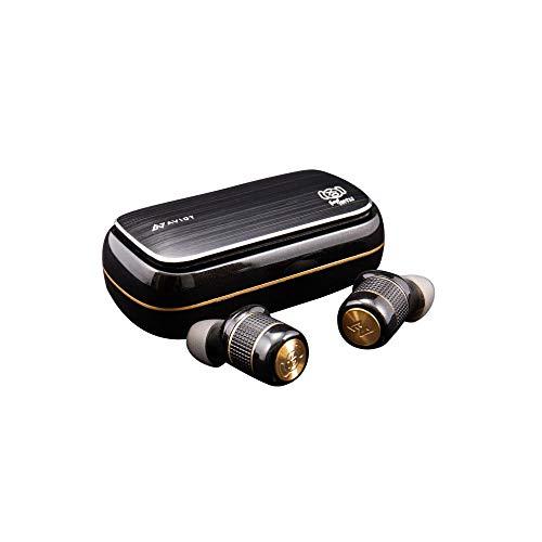 AVIOT×ピエール中野 TE-BD21f-pnk Special Edition 完全ワイヤレスイヤホン ピヤホン Bluetoothイヤホン ボイスアナウンスは花澤香菜 シリコンストラップ SpinFit イヤーピース付属 iPhone アンドロイド SBC AAC aptX 対応