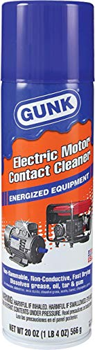 Gunk NM1 Electric Motor Contact Cleaner - 20 oz.