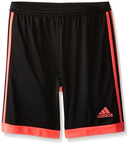 adidas Performance Boys Tastigo Shorts, Black/Flash Red, Medium