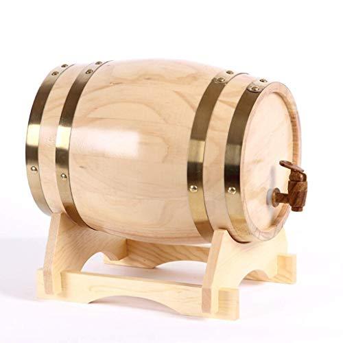 CUPWING Wijnwhisky opslag eiken vat Wijnvat, Eiken Vatten Van Vat, Droge Rode Wijnvaten 3L5L10L20L Het kan wijn, witte wijn, cognac, whisky en